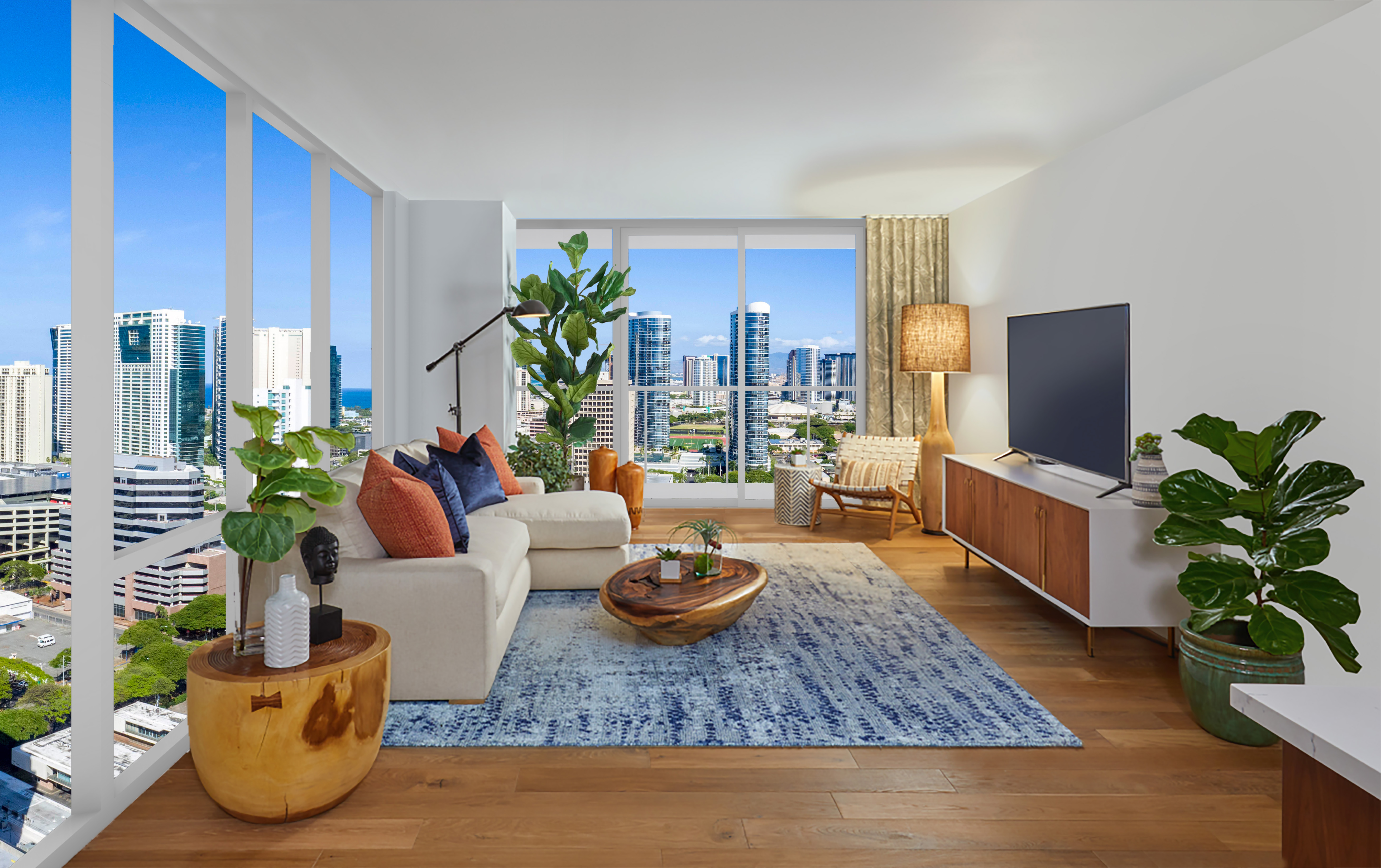 Take a Closer Look at Azure's Type A-4 Floor Plan - Azure Ala Moana