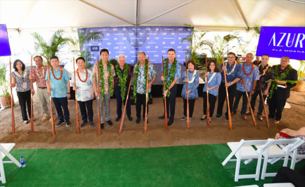 Celebrating Our Groundbreaking with News, Photos, Videos and More! - Azure Ala Moana