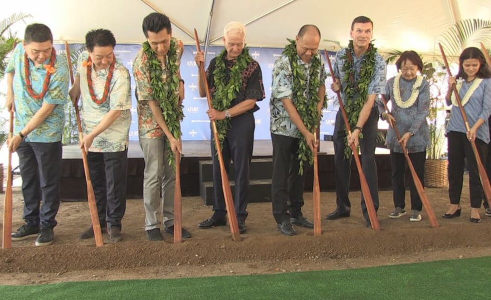 Condominium project breaks ground in Ala Moana - Azure Ala Moana