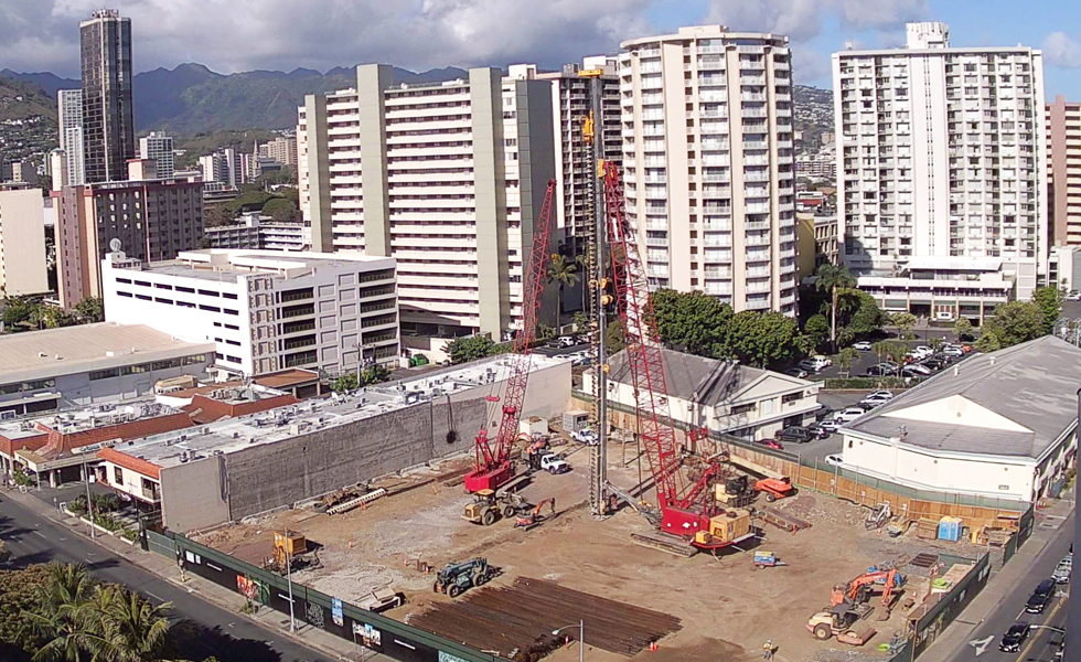 Construction Update:  Laying the Framework for the Future - Azure Ala Moana