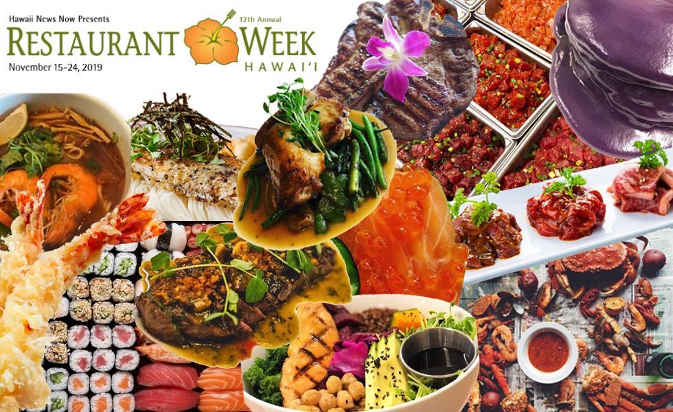 Restaurant Week Hawaii 2019 - Azure Ala Moana